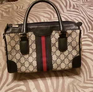 Gucci Vintage Mini Boston Bag